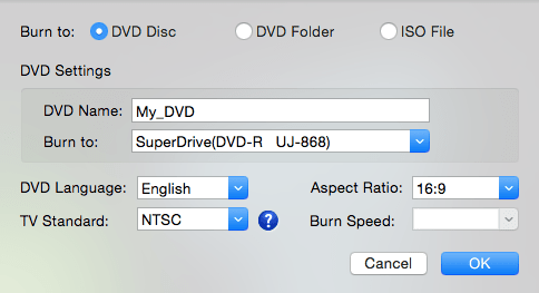 Free mac dvd burning software