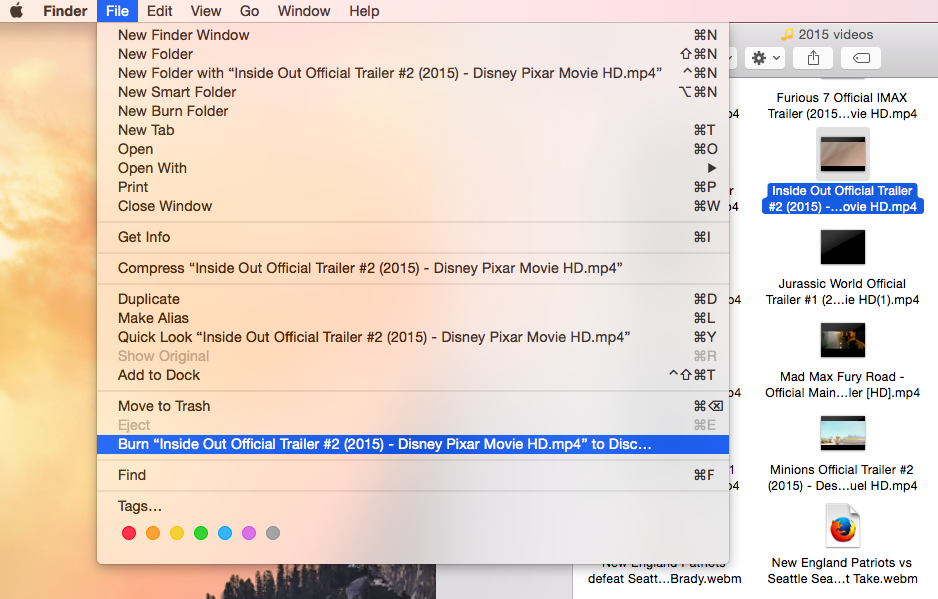 how to burn pdf files to dvd on mac