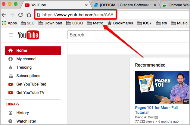 How to Block YouTube Channels on Chrome Step Three