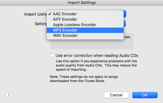How to Convert WAV to MP3 with iTunes Step 3
