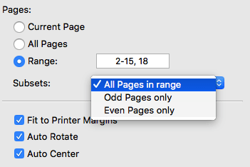 choose pages to extract foxit