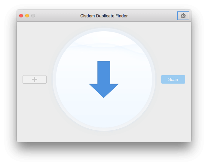 click the settings icon