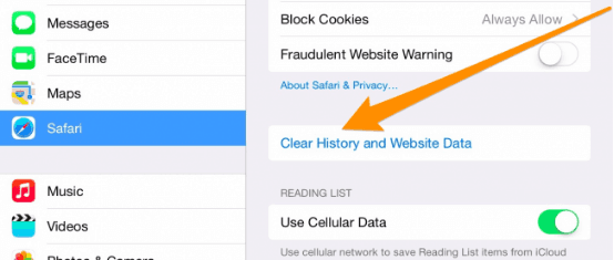 clear app cache iphone how to clear app cache on iphone or 7852