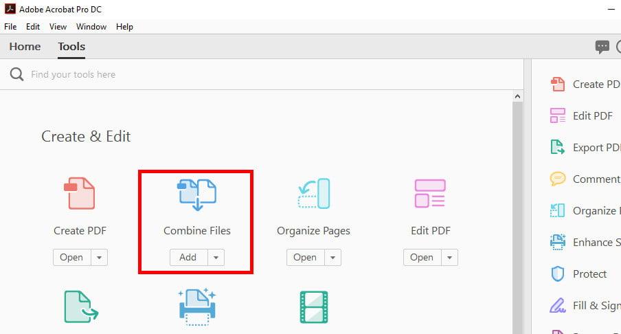 how to combine jpg into one pdf windows