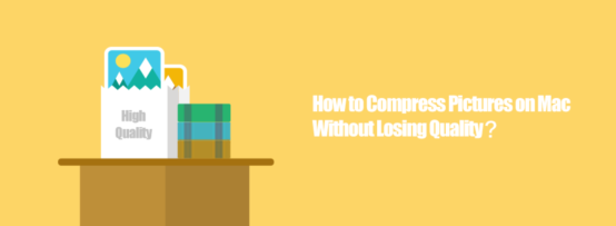 compress pictures mac