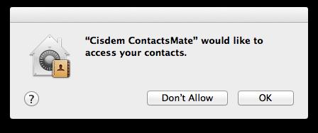 cisdem contactsmate allow