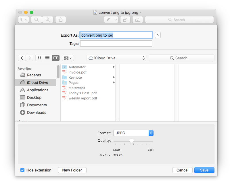 How to convert png to jpg on mac 2 is our favorite convert png to jpg mac with preview ccuart Images
