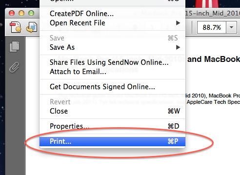 print word as pdf with adobe reader
