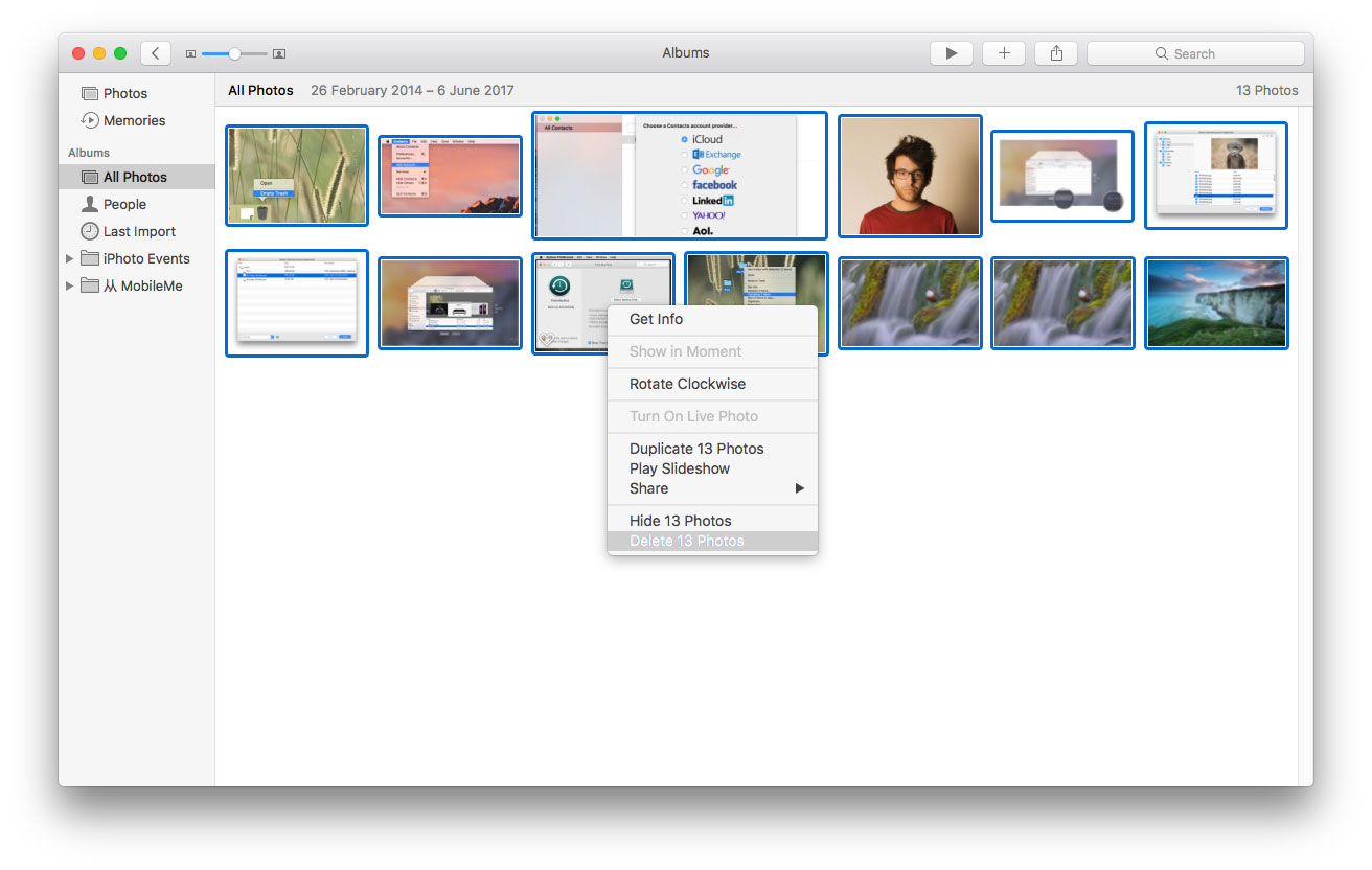 How to Delete Photos on Mac from Photos App