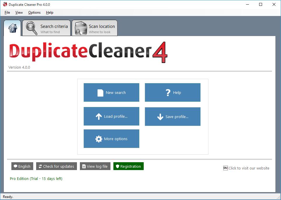 click New search
