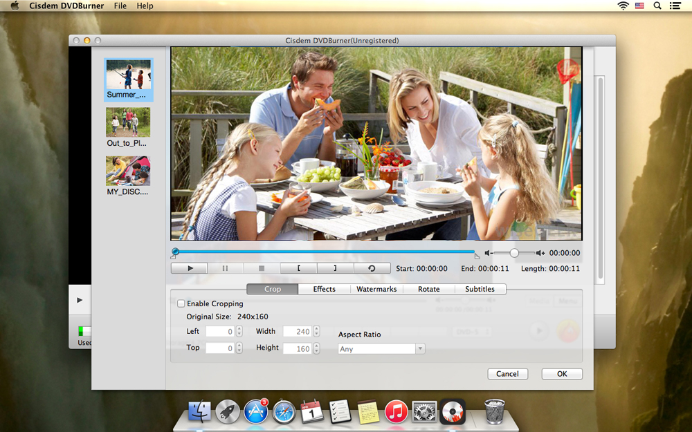 how to burn home movies from itunes to dvd on mac
