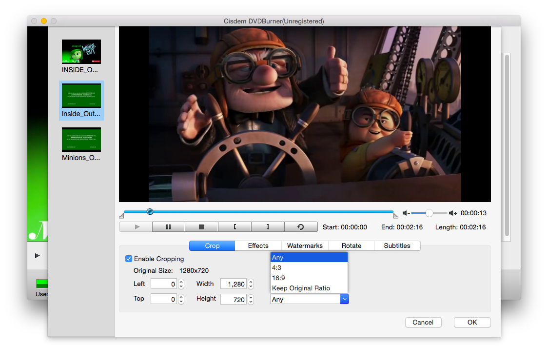 How to edit home dvd videos before burning them to dvd on mac double click the video thumbnail and the video editing window appears it lets you perform your creative idea to the full with rich personalized features ccuart Gallery