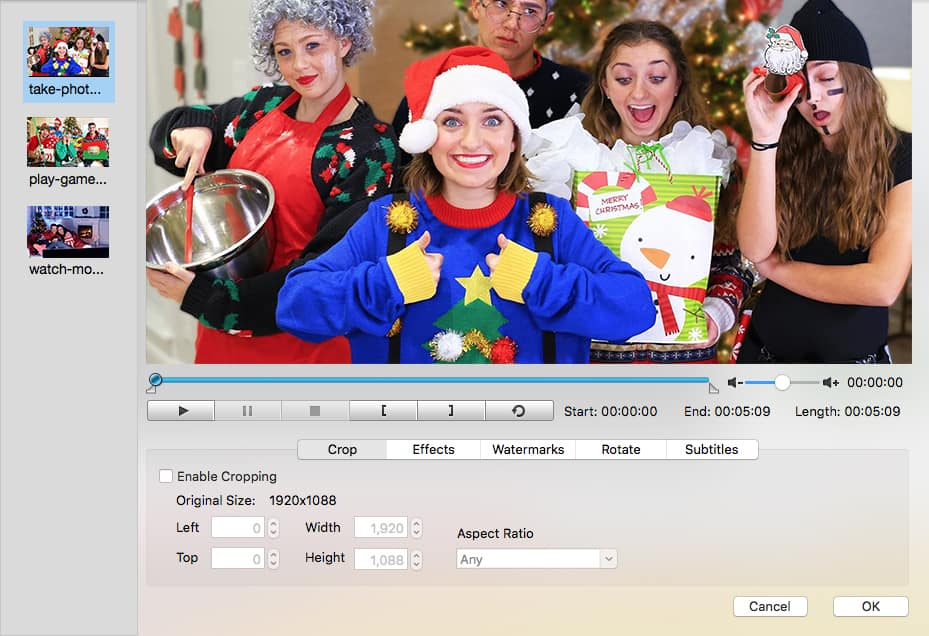 create christmas dvd template menu cisdem 02