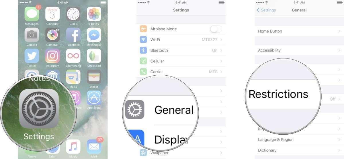 Lock down apps and settings on iPhone, iPad via Restrictions 01