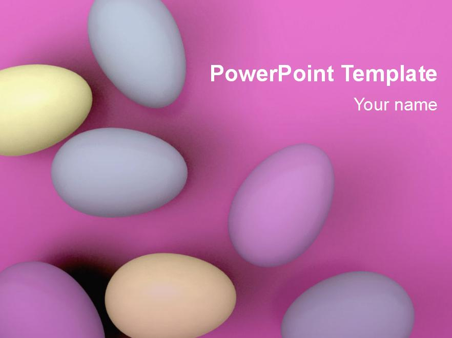 Free Printable PDFPPT Easter Egg Template Download – Sample Easter Powerpoint Template