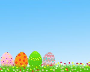 free ppt easter egg template download