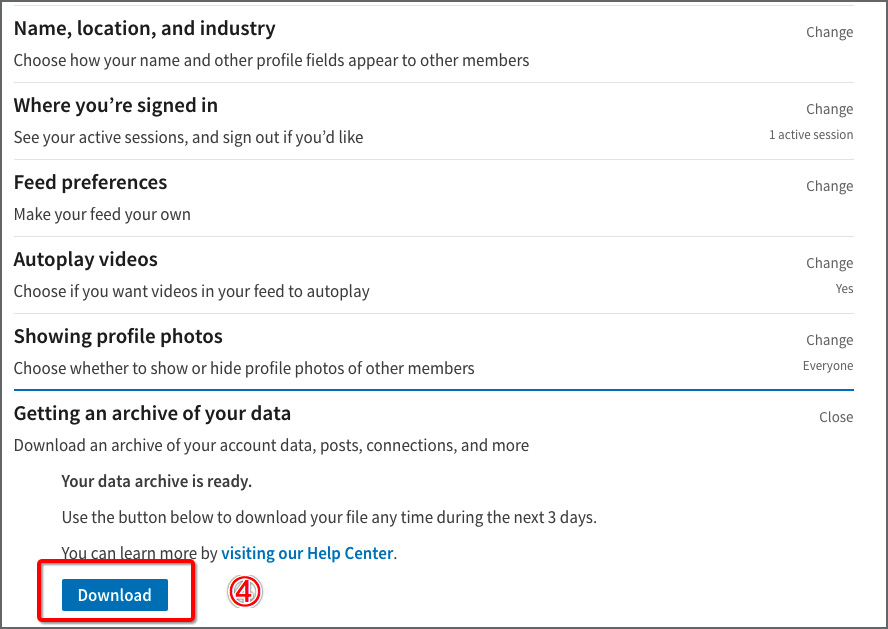 How to Export Your LinkedIn Contacts?