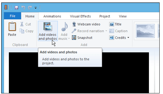 How to Extract Audio from Video in Windows Movie Maker-2