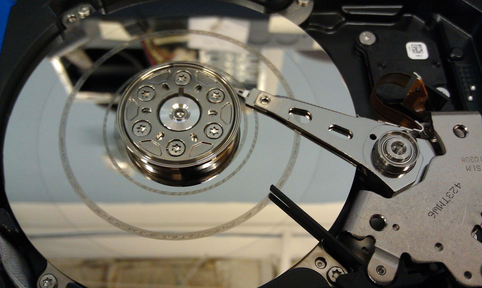 head crash is a cause of hard drive failure