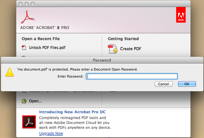 how to remove password protection from PDF01
