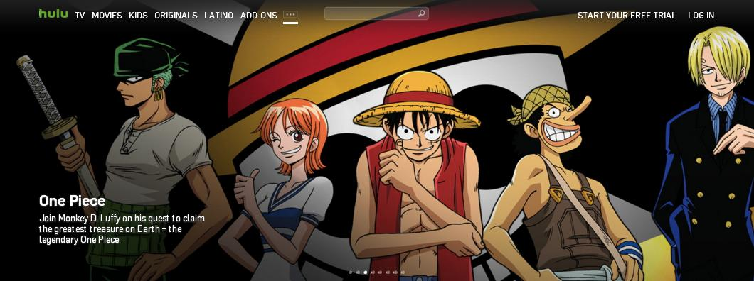 best websites to watch anime 2017 hulu