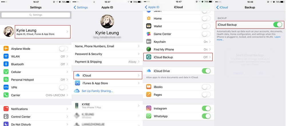 How to Backup iPhone without iTunes Manually or Automatically
