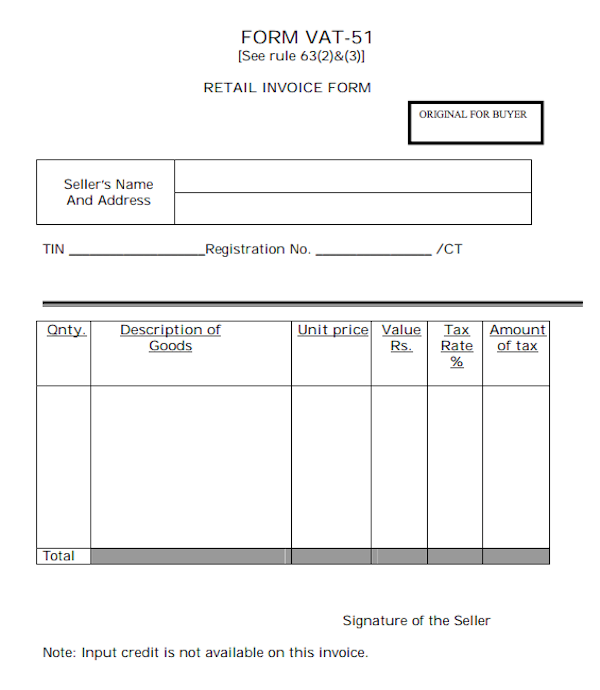 Where To Download Free Blank Invoice Template PDF - Empty invoice template
