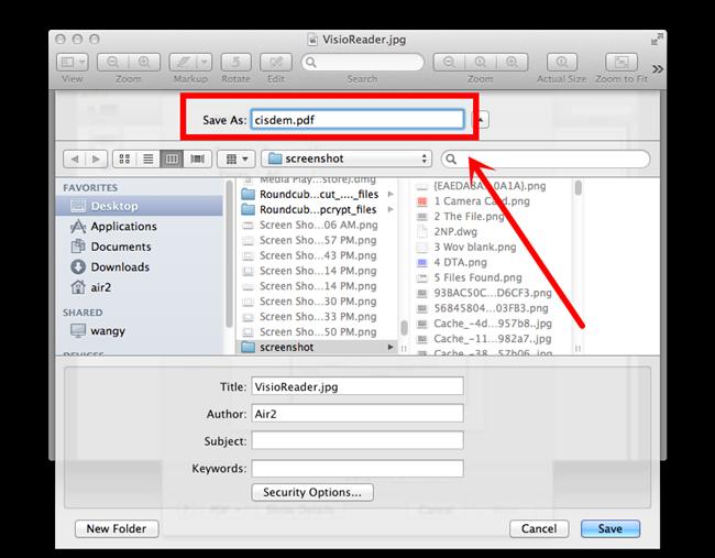 how to change dpi of jpeg image mac
