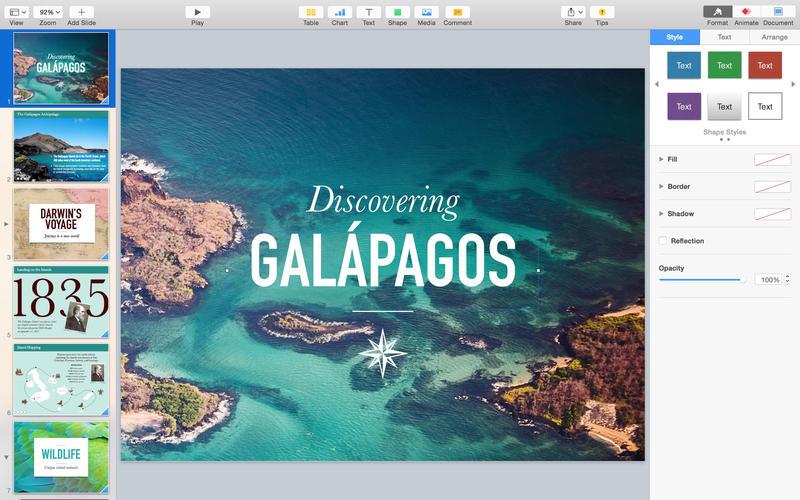 How to Convert Keynote to PDF on MacOS Sierra?