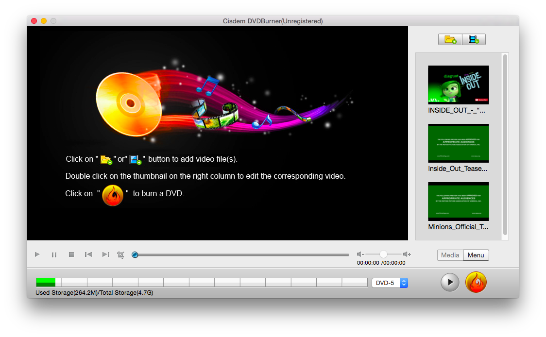 How to edit home dvd videos before burning them to dvd on mac edit your home dvd moviesvideos ccuart Gallery