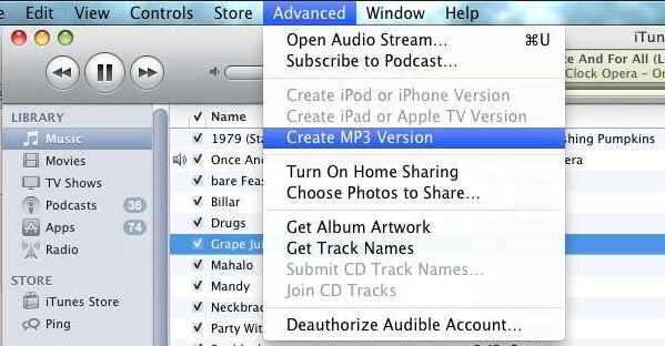 How to Convert M4B to MP3 with iTunes