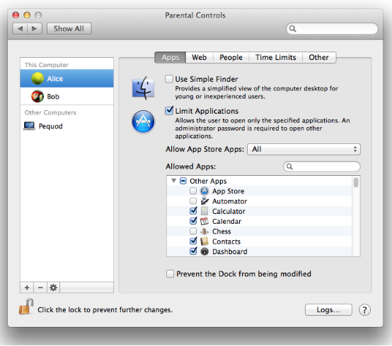 How to Lock Photos app on Mac with Parental Controls?
