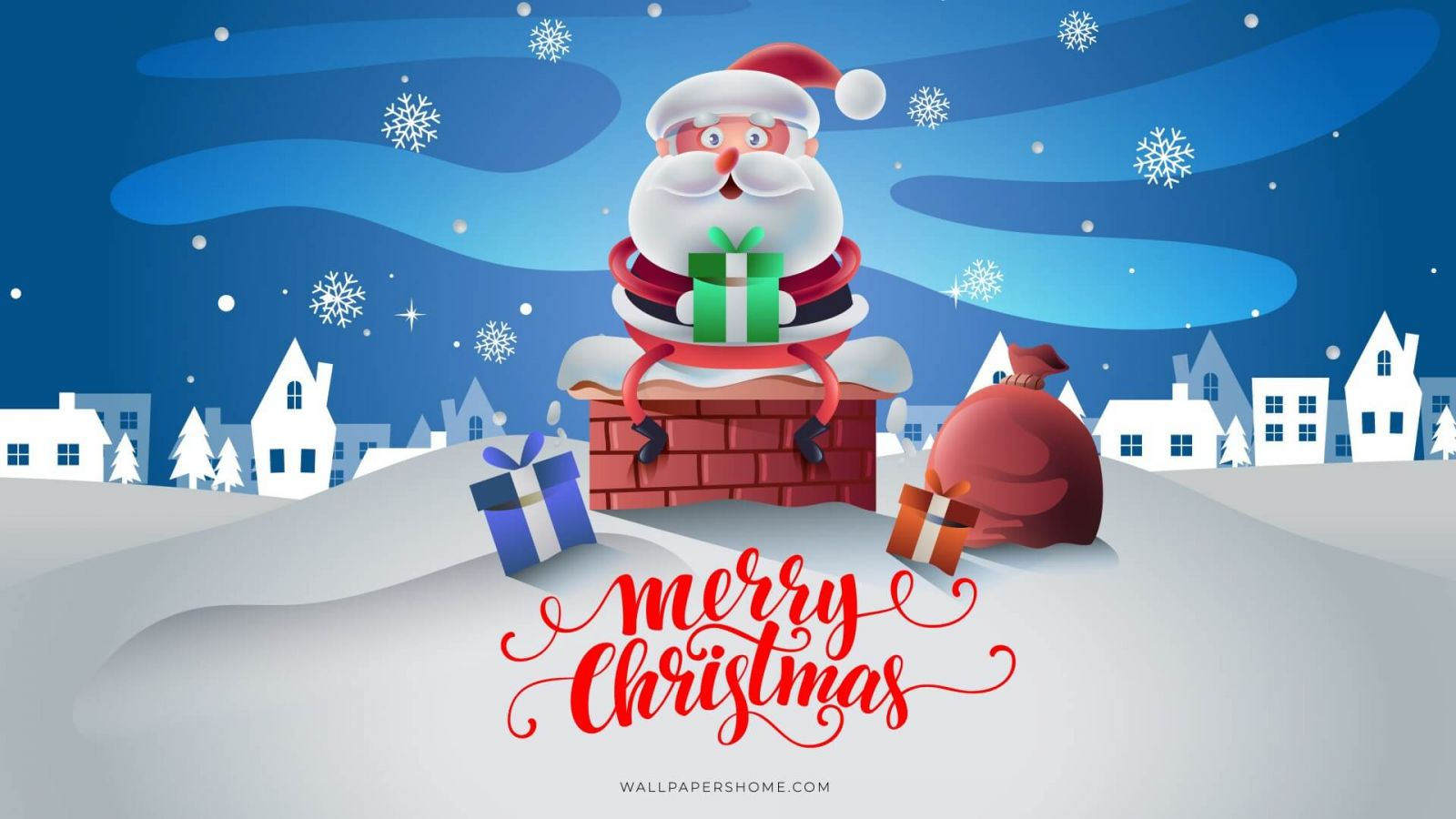 Mac HD Christmas wallpaper