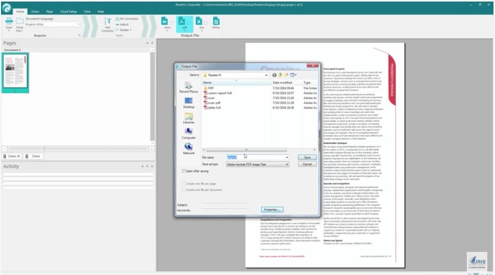 Make pdf file searchable free