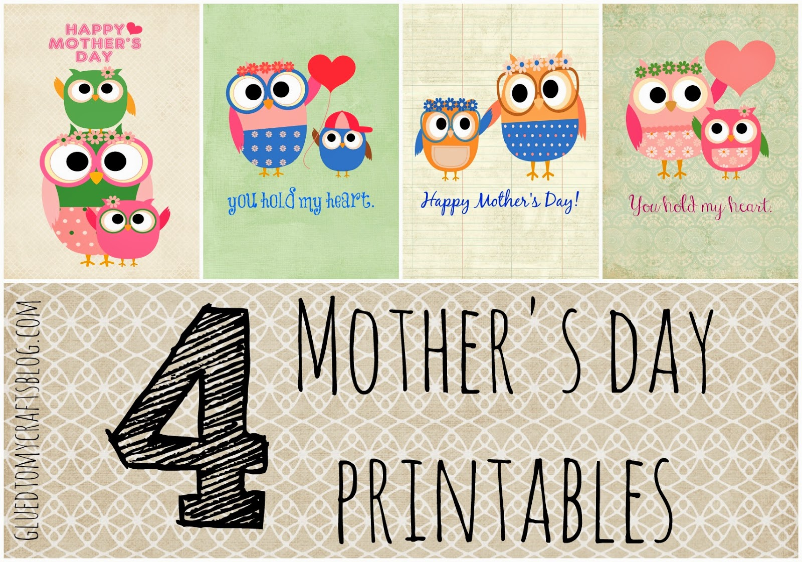 photograph about Free Printable Mothers Day Cards for Wife called No cost Printable Moms Working day Playing cards (PDF) Cisdem
