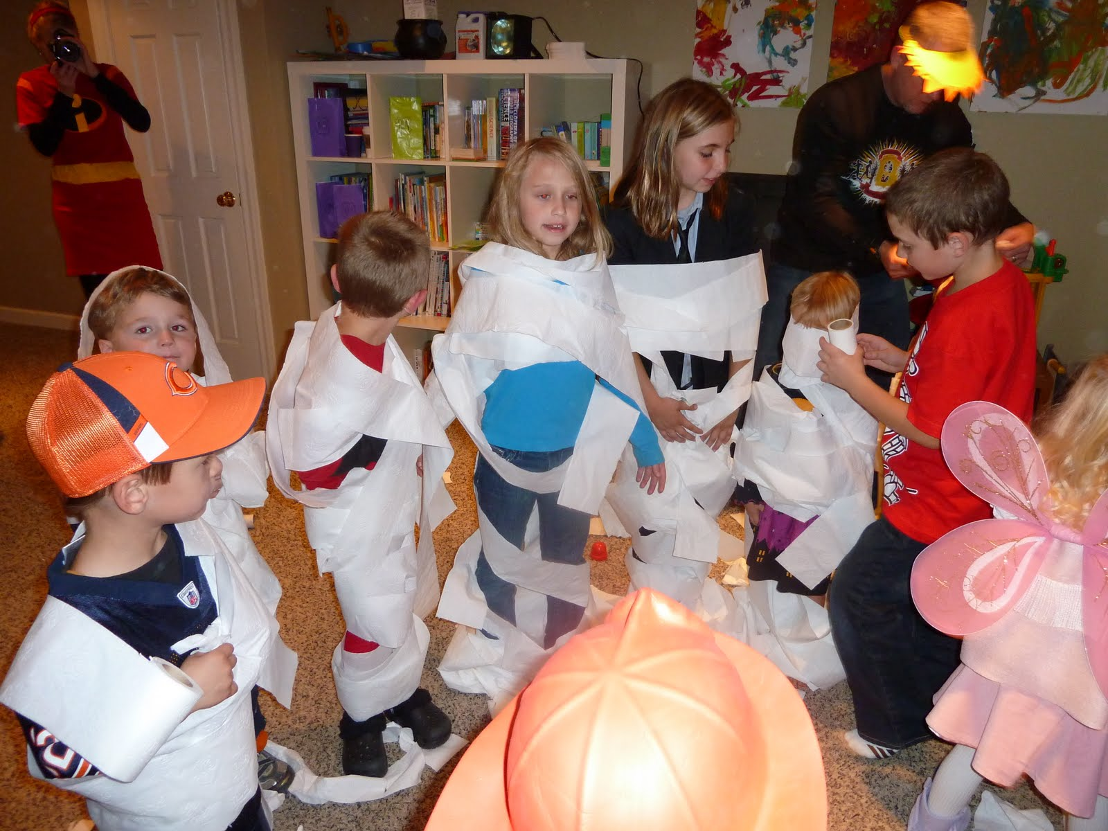 Best Halloween Party Games for Kids- Mummify