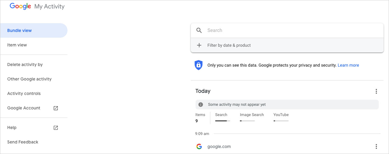 how to find deleted history on google chrome