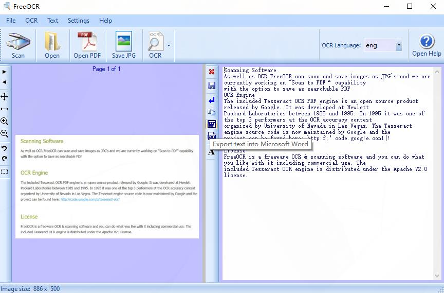 ocr to word free software