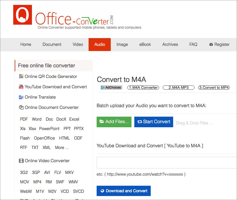 How to Convert YouTube to M4A on Mac and Windows?