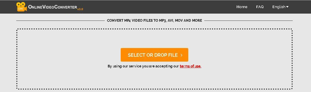 free mp4 to mp3 converter- online video converter