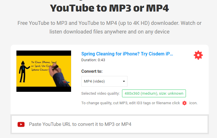 How to Convert YouTube Videos to MP4 on Mac/Windows
