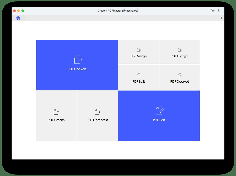 pdfmaster main interface