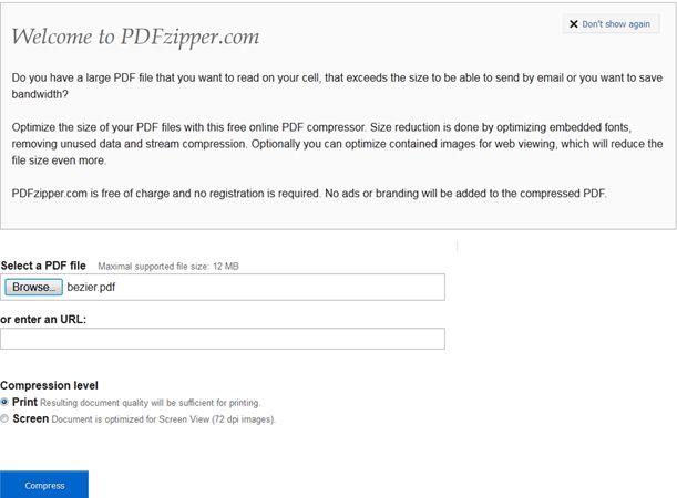 Best Online PDF Compressor: Compress PDF to 100 KB for Free