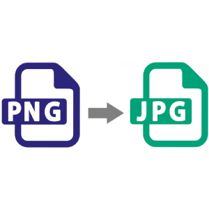 PNG to JPG conversion