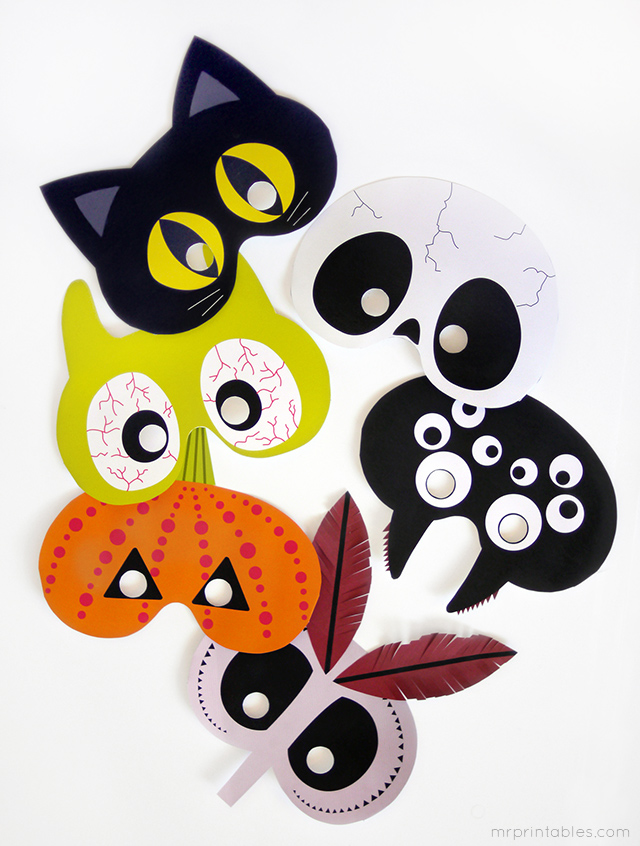 Free and Printable Halloween Masks in PDF | Cisdem