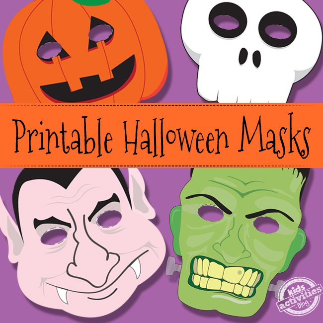 image relating to Printable Halloween Masks named Free of charge and Printable Halloween Masks within just PDF Cisdem