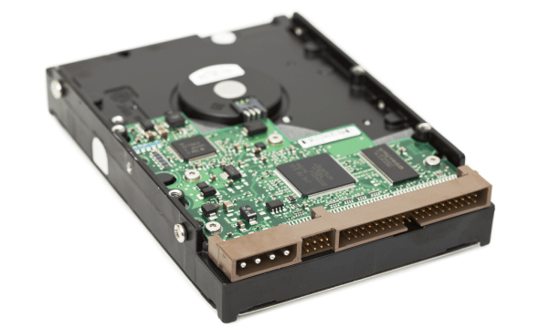 printed circuit board of a hard drive