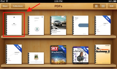 You Have Successfully Downloaded The PDF File To Your IPad And Stored It In IBooks App Itll Stay There Until Delete