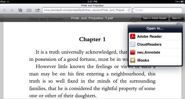 How to download pdf on ipad adobe air