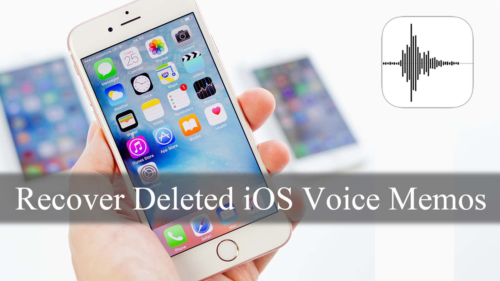 How to Recover Deleted Voice Memos from iPhone (iPhone 7 and iPhone